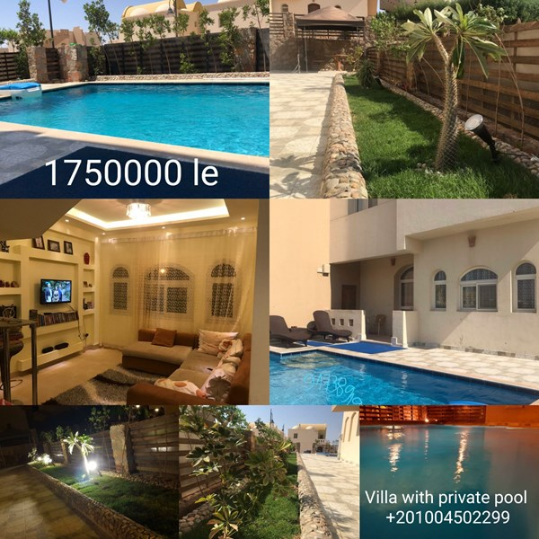 Villa with private pool and garden in luxury residential compound. BEST OFFER!