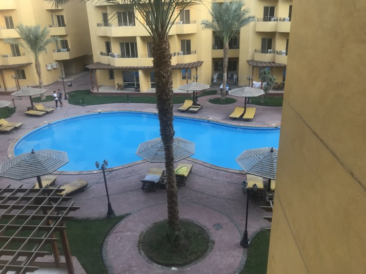 Amazing flat with 1 bedroom in British resort compound